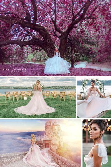 Fairytale inspired bridals