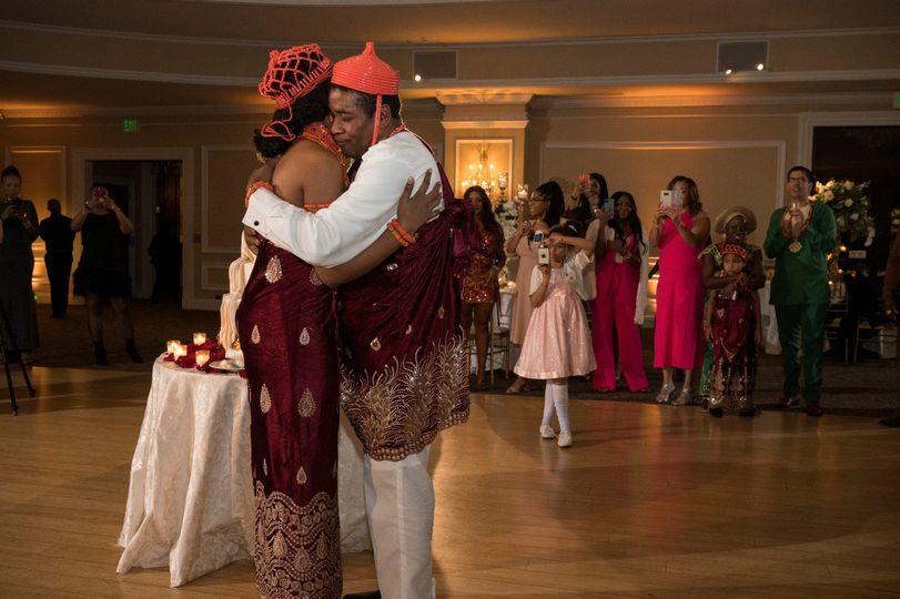 Nigerian wedding at Oheka Cast