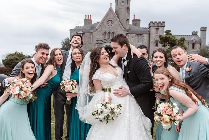 Whitby castle disney wedding