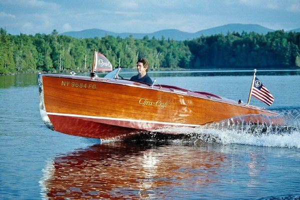 Our 1936 Chris Craft makes a perfect escape for the bride and groom.