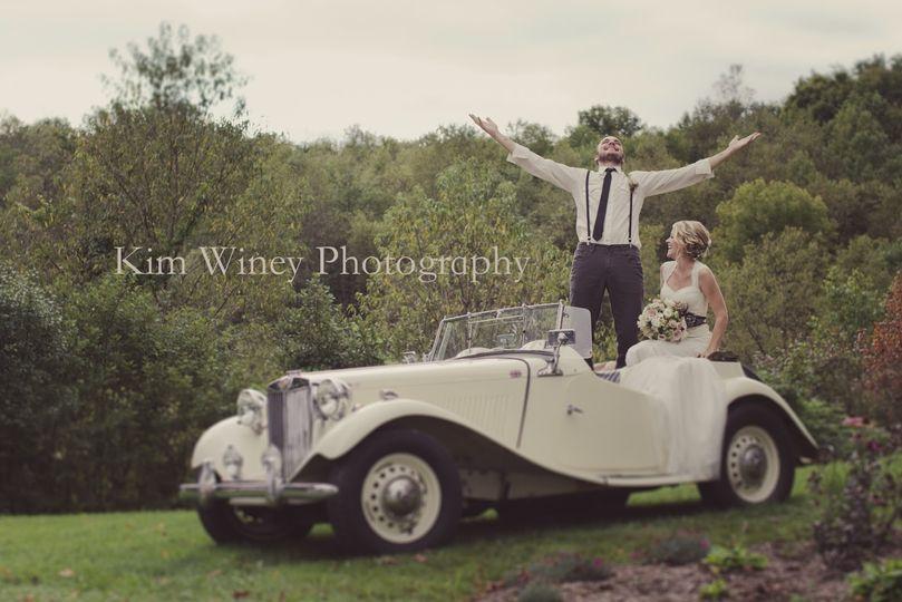 1953 MGTD Bridal Transportation Add-On