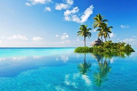 large tropical paradise