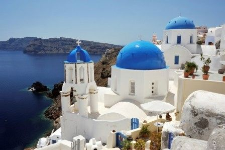 Tmx 1432932469724 Istock000009468274large Santorini Blue Domes Minneapolis wedding travel