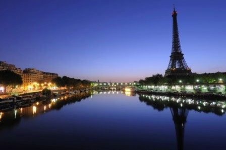 Tmx 1432932471790 Istock000012347409xlarge Eiffel Tower At Dawn Minneapolis wedding travel