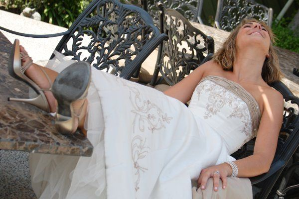 Edna Valley Vineyard bride repose