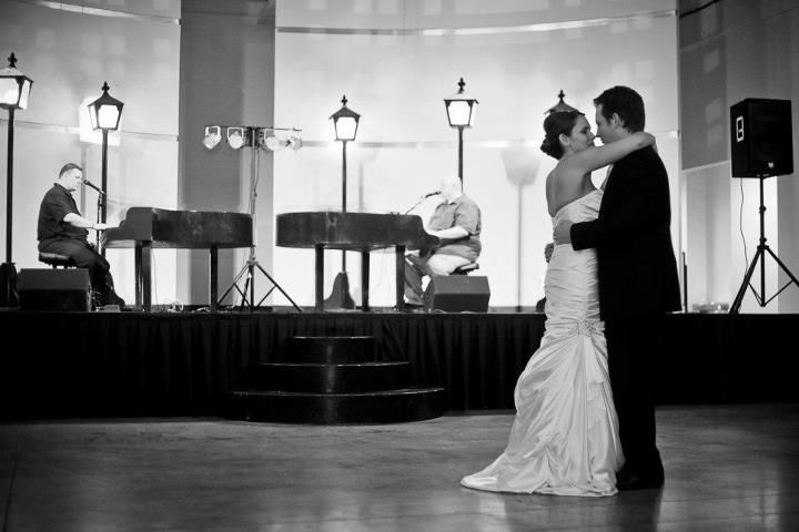Playing for the first dance!