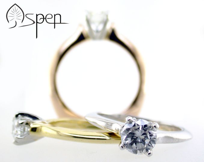 aspen engagement rings