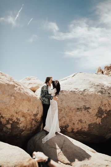 Boho Desert Couple