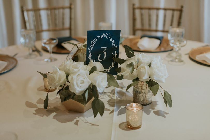 Simple, Elegant Centerpiece