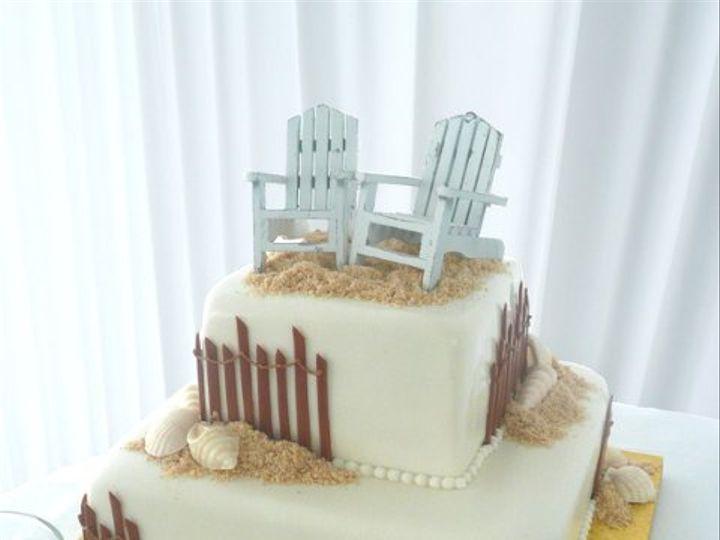 Tmx 1309442939976 BeachSquare Elkridge wedding cake