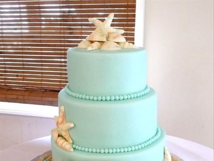 Tmx 1309442965804 BlueBeach Elkridge wedding cake