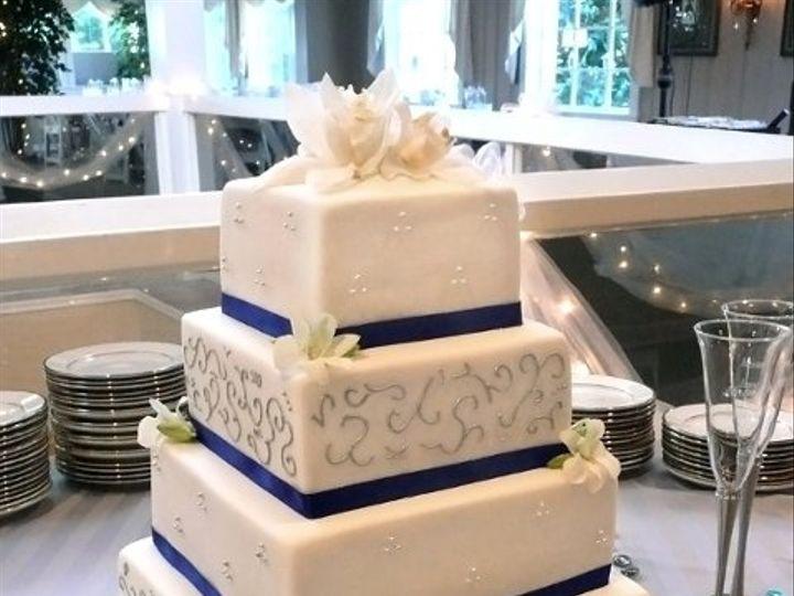 Tmx 1309442971398 BlueSilver Elkridge wedding cake