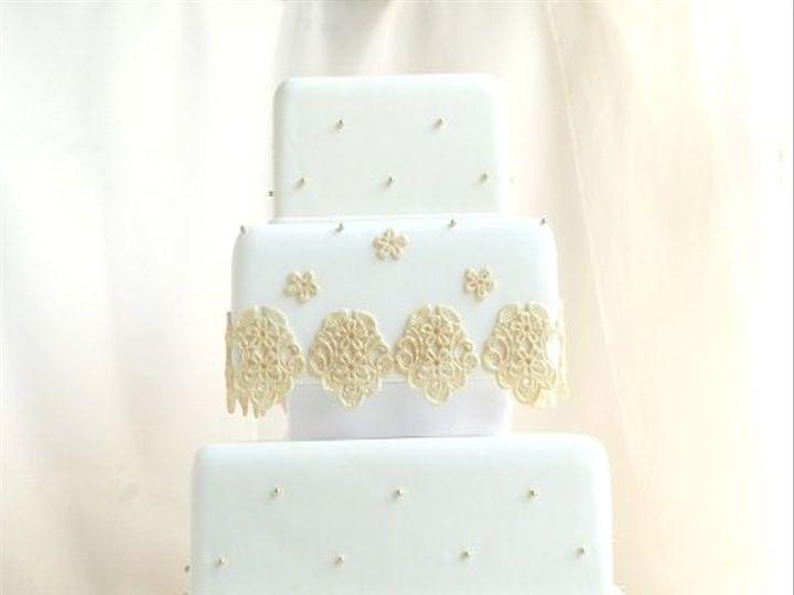 Tmx 1309443000851 GoldLace Elkridge wedding cake