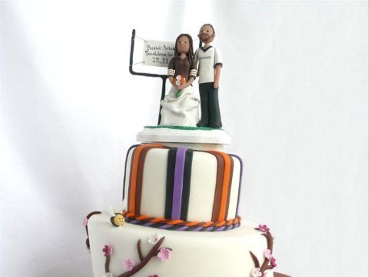 Tmx 1309443033710 RavensBrowns Elkridge wedding cake