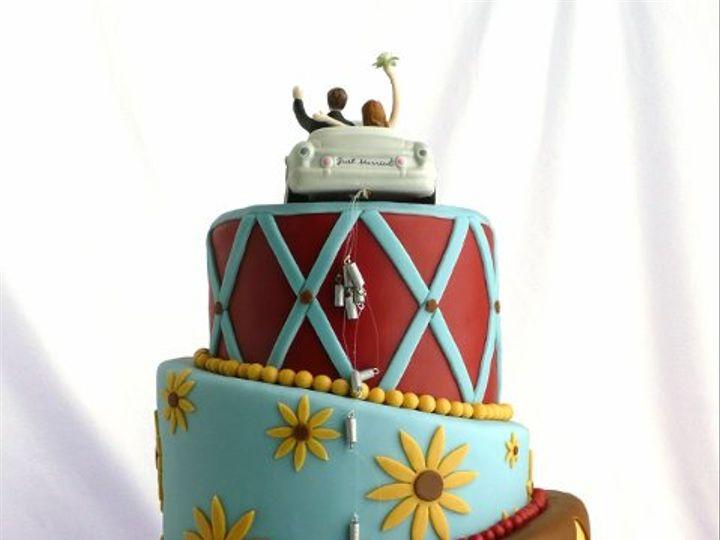 Tmx 1309443058679 Sunflower Elkridge wedding cake