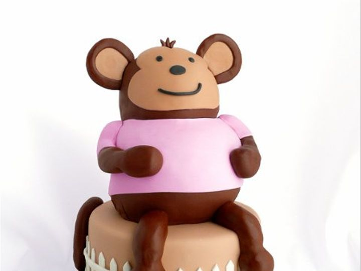 Tmx 1309453088554 Monkey Elkridge wedding cake