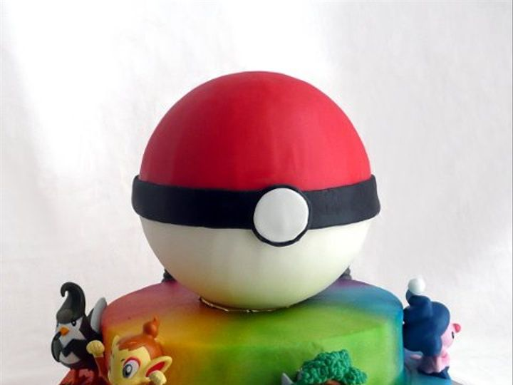 Tmx 1309453103117 Pokemon Elkridge wedding cake