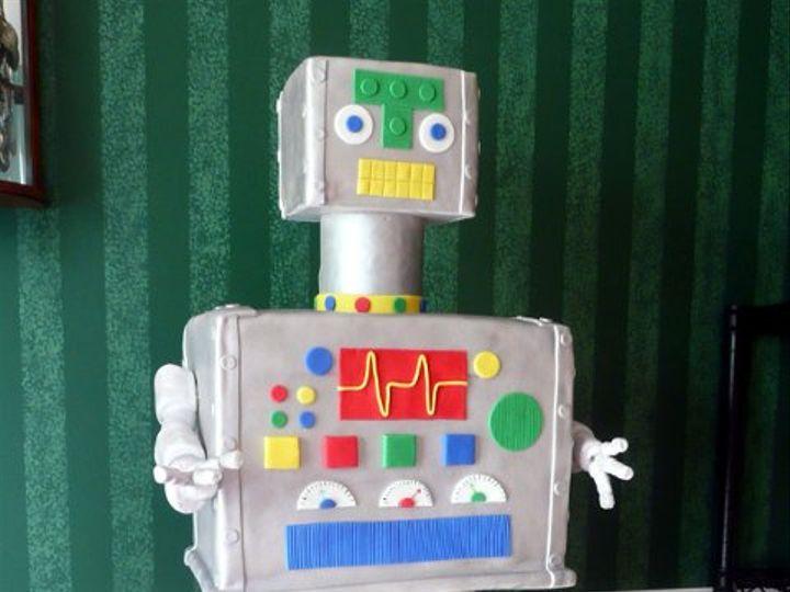 Tmx 1309453138617 Robot Elkridge wedding cake