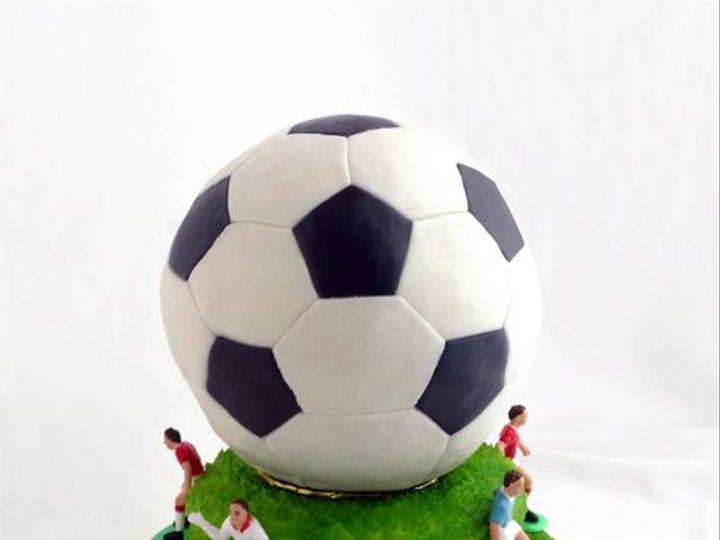 Tmx 1309453157710 Soccer Elkridge wedding cake