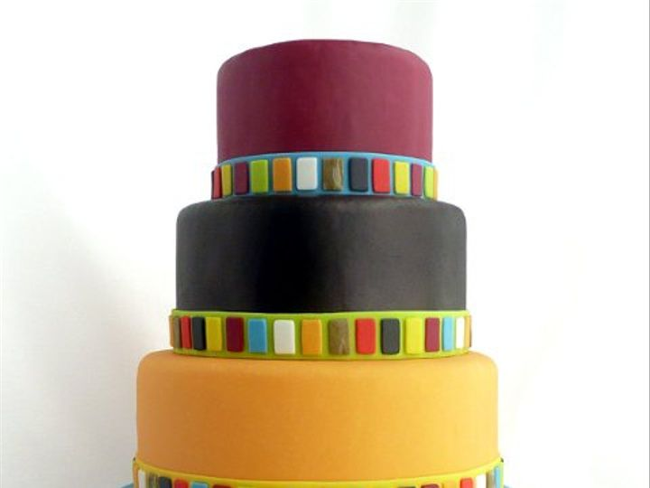 Tmx 1309453771601 ArtPlates Elkridge wedding cake