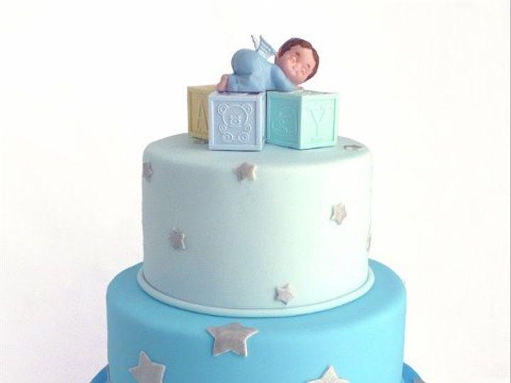 Tmx 1309453780773 BabyBlue Elkridge wedding cake