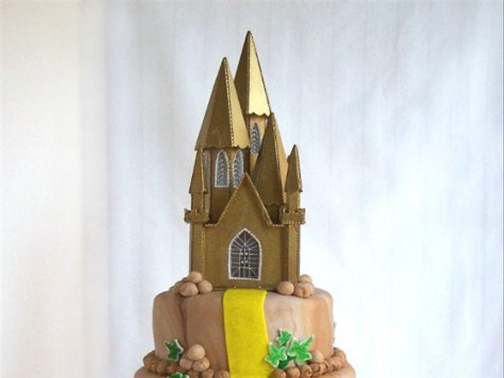 Tmx 1309453788210 CastleCake Elkridge wedding cake
