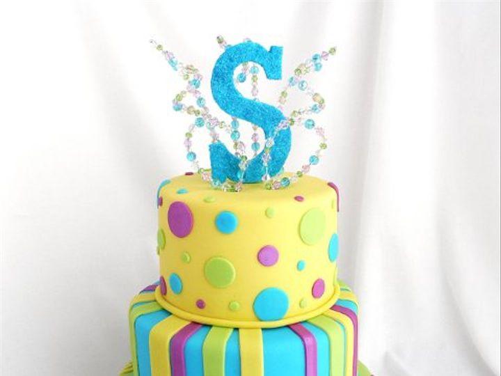 Tmx 1309453797242 ElectricBlueS Elkridge wedding cake