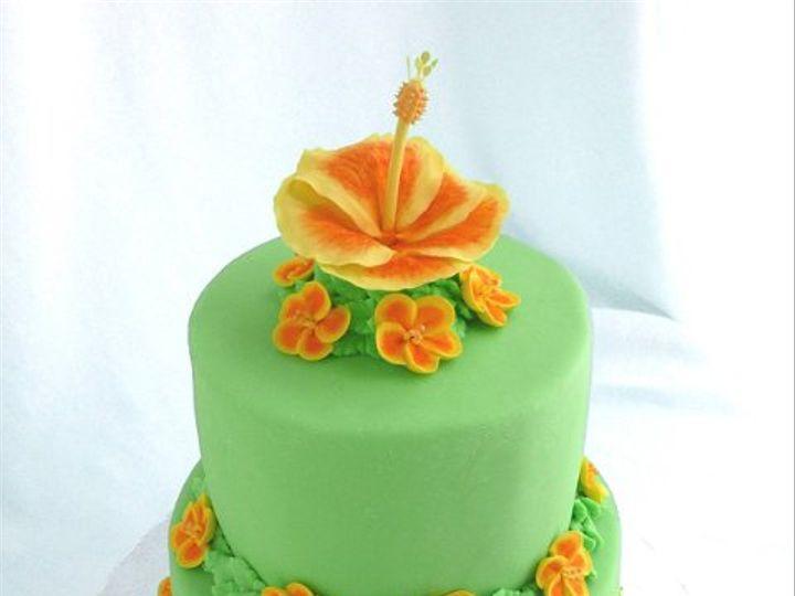 Tmx 1309453808085 Luau Elkridge wedding cake