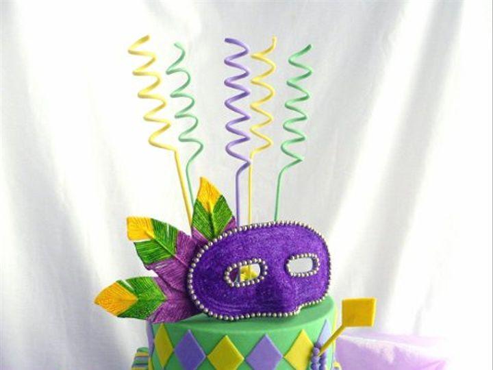 Tmx 1309453811179 MardiGras Elkridge wedding cake