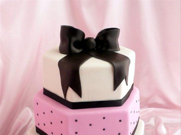 Tmx 1309453842648 Toile Elkridge wedding cake