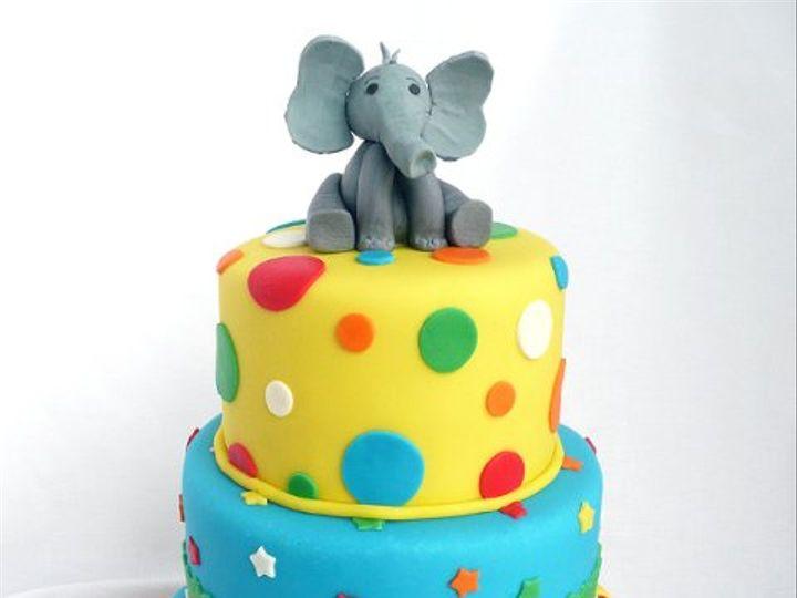 Tmx 1322699149268 CircusElephantM Elkridge wedding cake