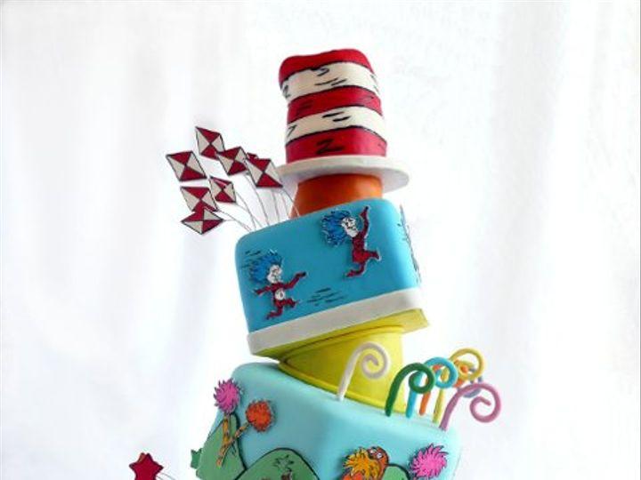Tmx 1326219888253 SeussM Elkridge wedding cake