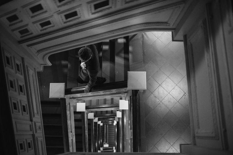 Carnegie Hall Stairwell