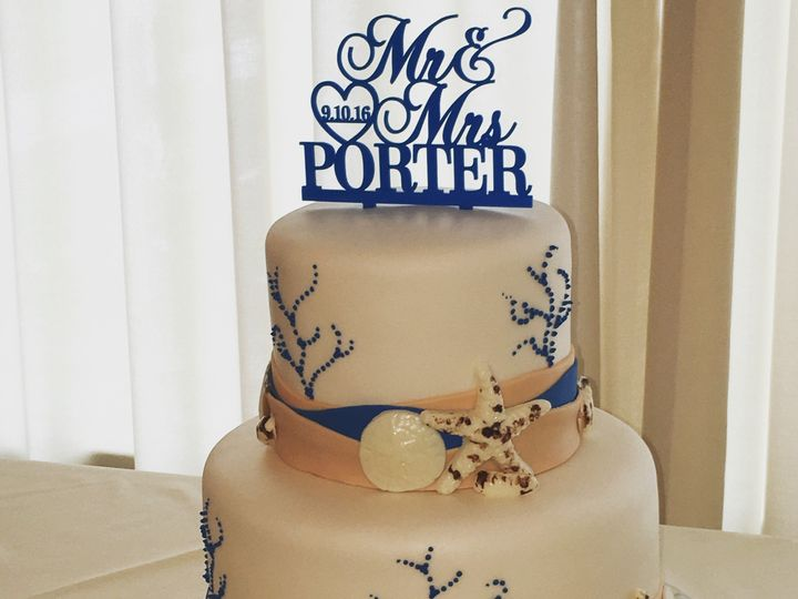 Tmx 1484670246138 Beach Madbury, NH wedding cake