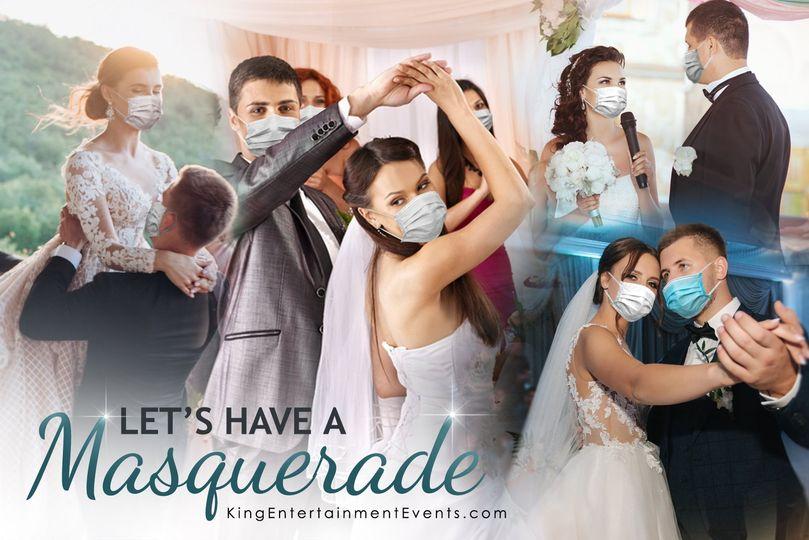 Let's have a masquerade