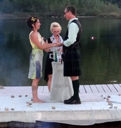 Customized Ceremonies  https://www.facebook.com/Weddings4U website- http://www.JewelOlson.webs.com