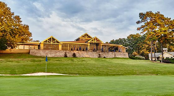 Clubhouse view from Golf Cours