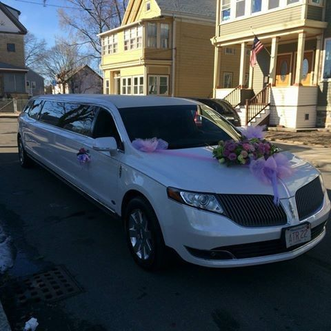 Tmx 1514565827114 Limo Flowers Malden wedding transportation