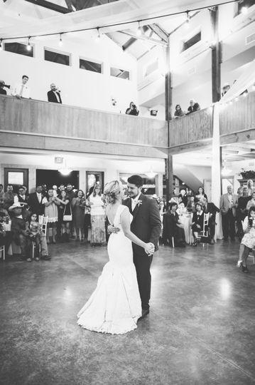 First Dance inside the Grand Reception Hall at La Estancia Bella.