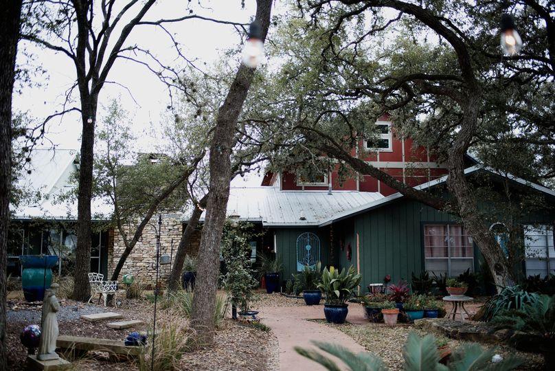 Exterior of the Ranch House at La Estancia Bella. Sleeps up to 10.