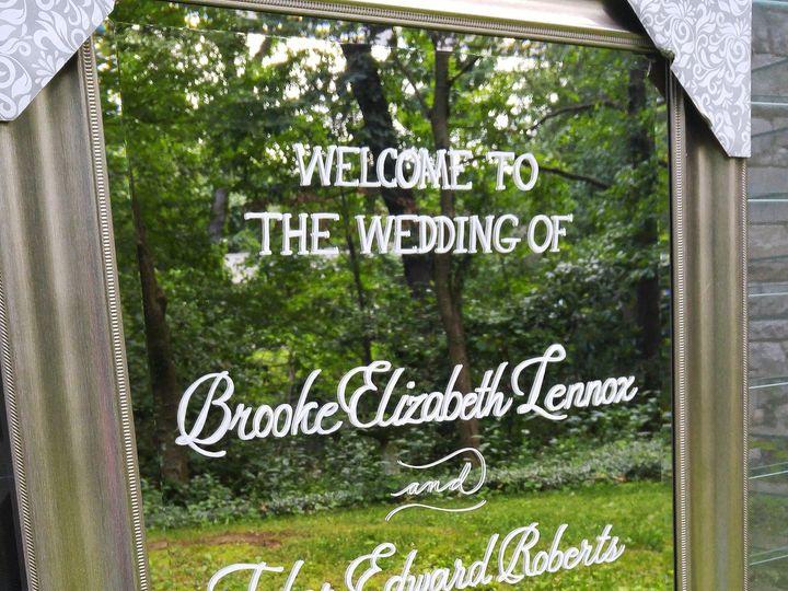 Tmx 1499043177217 Wedding Mirror Calligraphy Rochester, NY wedding invitation