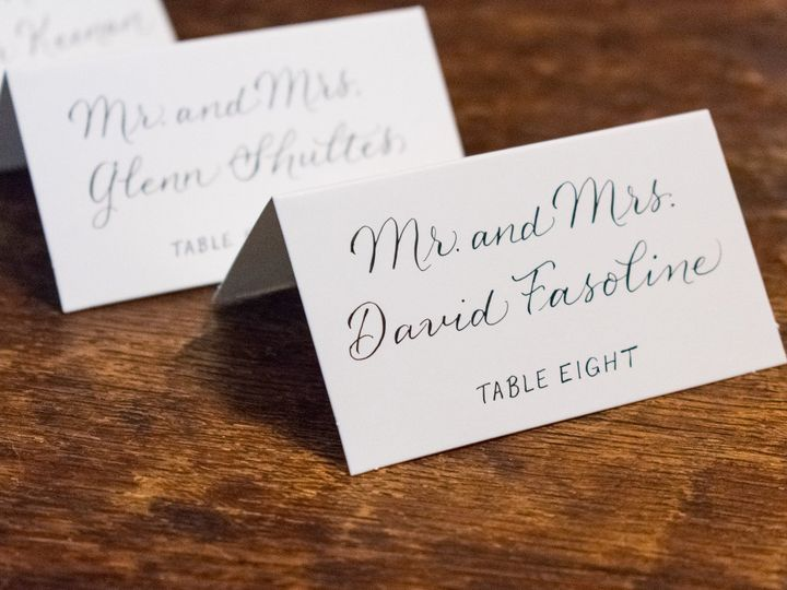 Tmx Modern Calligraphy Place Cards 51 947210 1569357843 Rochester, NY wedding invitation