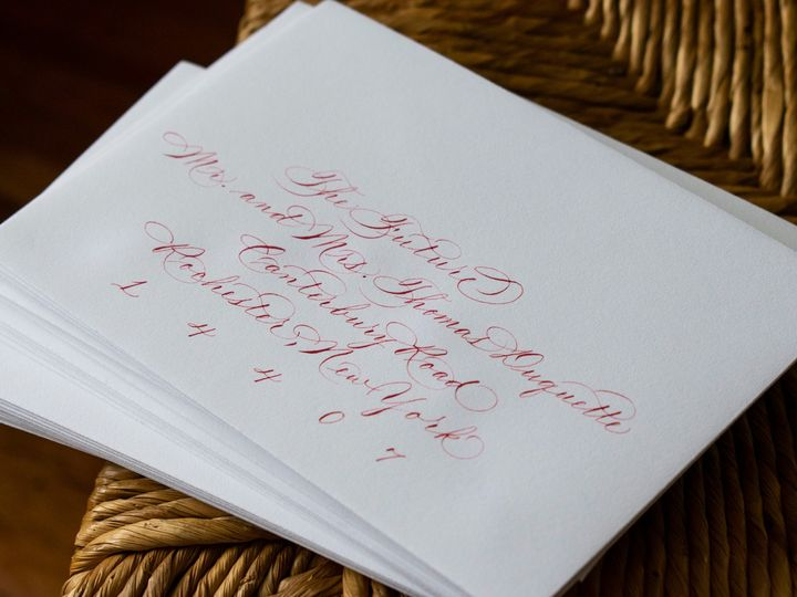 Tmx Red Ink Envelopes 1 51 947210 158999729176556 Rochester, NY wedding invitation