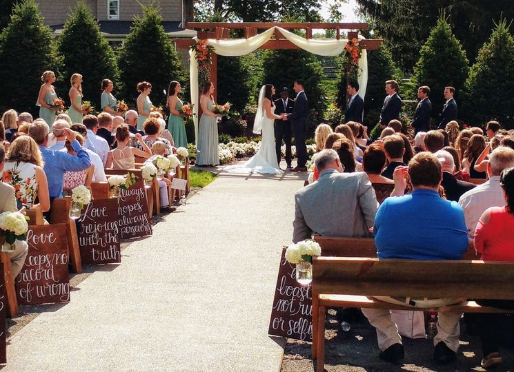 Outdoor wedding venue - pittsburgh pa