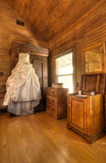Bride's gown