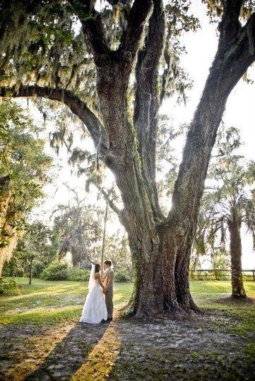 Pastor Jessica's wedding day in Jacksonville