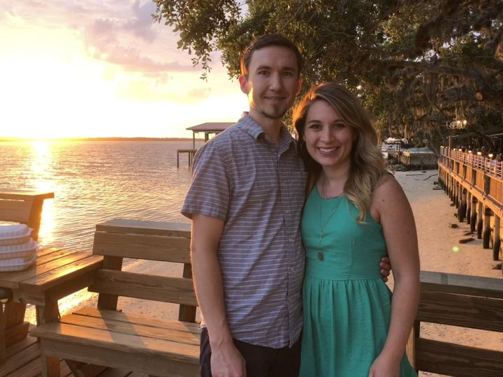 Pastor Jessica and her husband, Ryan on the intercostal in St. Augustine
