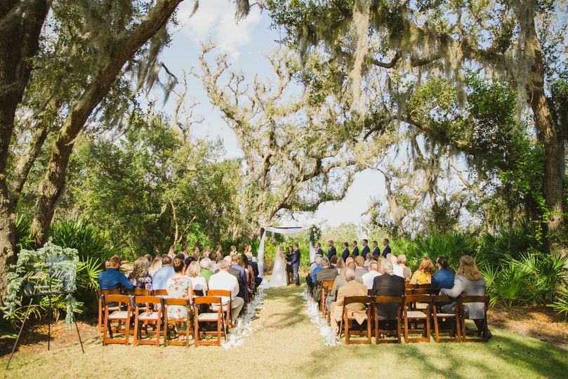 Ceremony on the intercostal