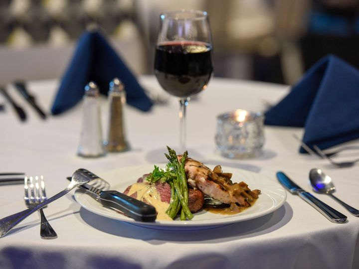 Tmx Food On A Plate With Setting And Wine 51 78210 158714655810910 Clearwater, Florida wedding venue