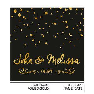 Tmx 1497550881111 Foiledgold Royal Oak wedding favor